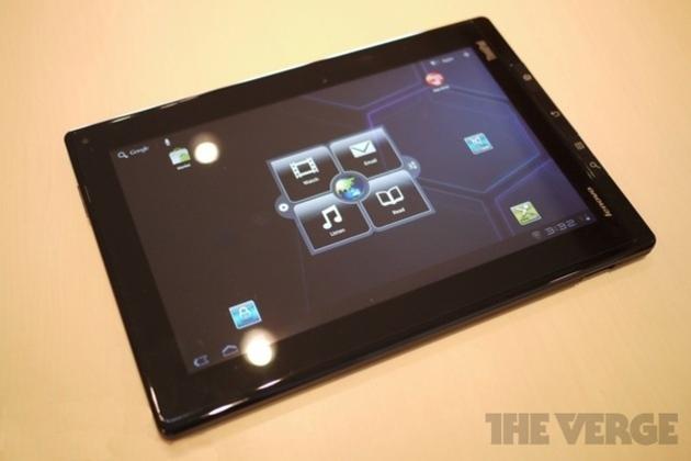 ThinkPad Tablet-VERGE watermark