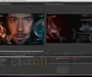 iron man hud after effects