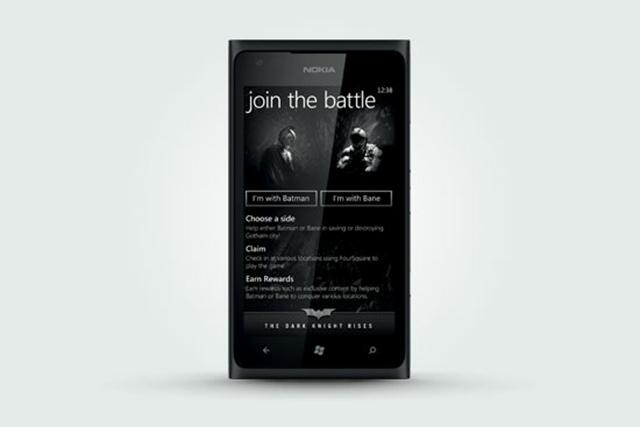 Nokia Lumia 900 batman