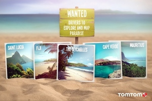 tomtom map paradise