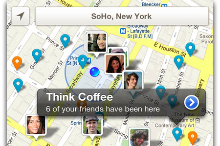 foursquare redesign screenshot