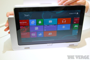Gallery Photo: Acer Iconia W700 hands-on pictures