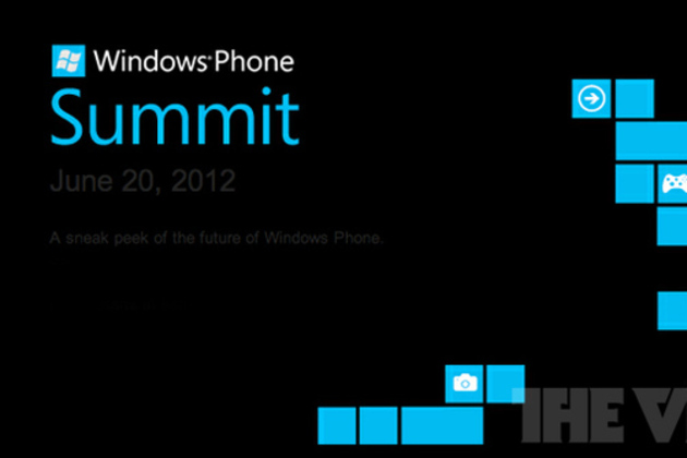 Windows Phone developer summit invite