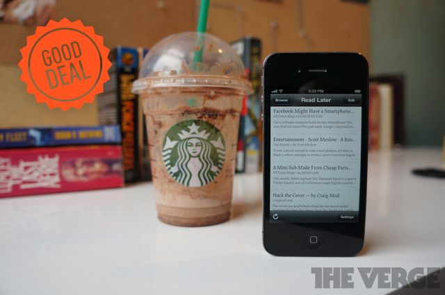 starbucks instapaper