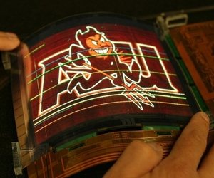 Flexible OLED source ASU