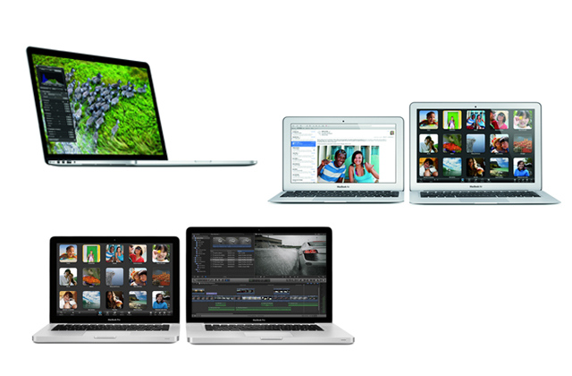 Apple's 2012 MacBook family portrait: a guide for new ...