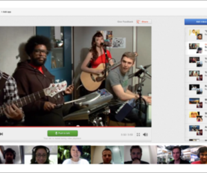 YouTube party Google+ Hangout