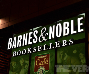 Barnes &amp; Nobel store logo stock (1020)