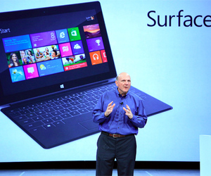 Steve Ballmer Microsoft Surface