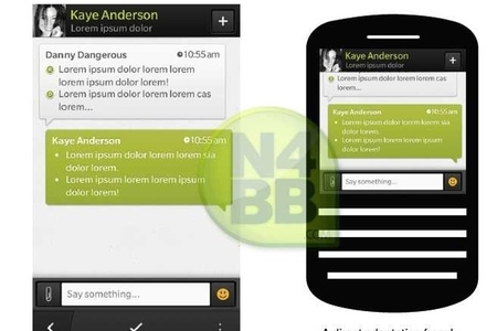 N4BB BlackBerry 10 BlackBerry Messenger