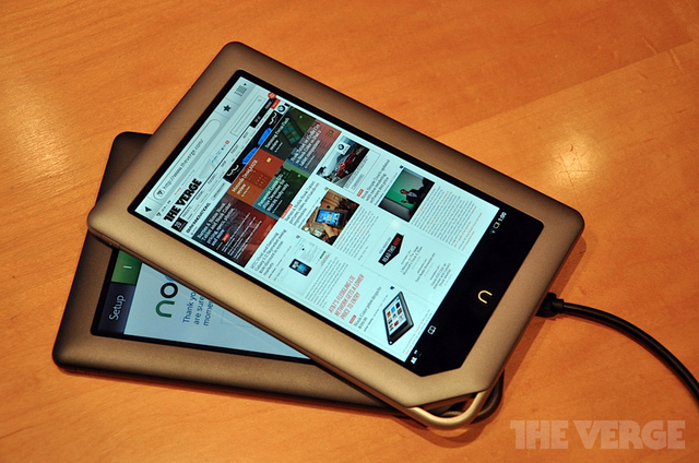 nook tablet nook color
