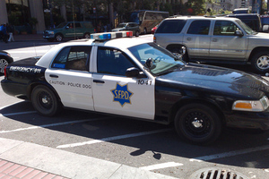 San Francisco police car (FLICKR)