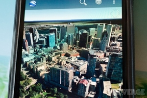 Google Earth Android 3D Cities