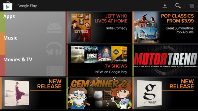 google tv content official