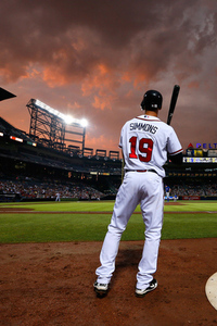 Simba will be missed at Turner Field.