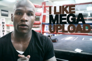 floyd mayweather likes megaupload