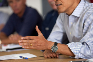 Obama Serious (White House Flickr)
