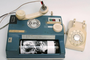 Analog photo transmitter (credit Andy Scott/Dallas Morning News)