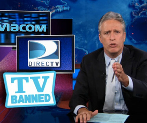 Daily Show Jon Stewart on DirecTV and Viacom
