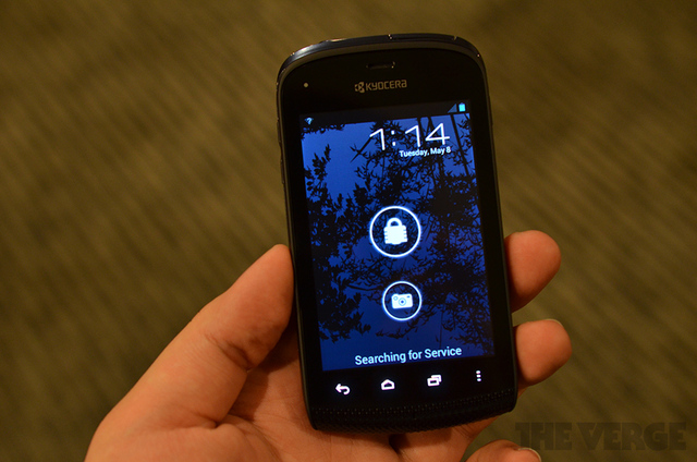 Gallery Photo: Kyocera Rise and Hydro hands-on pictures
