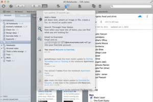 Evernote Mac 3.2