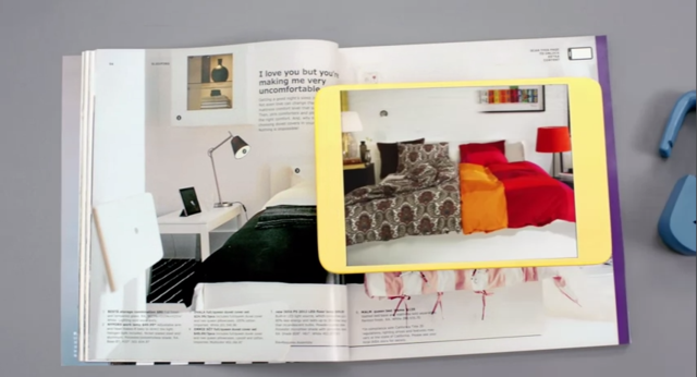 IKEA Catalog augmented reality