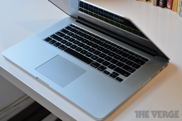 MacBook Pro with Retina Display 2012 stock