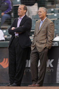 Dan O'Dowd is still the Rockies general manager, for now.