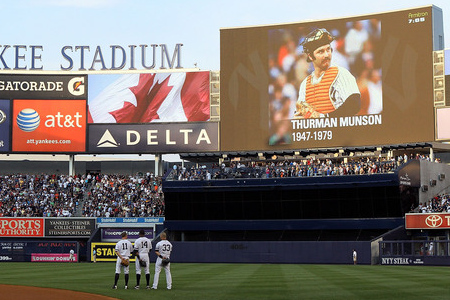 Thurman Munson will never be forgotten by the Yankees organization or their fans.