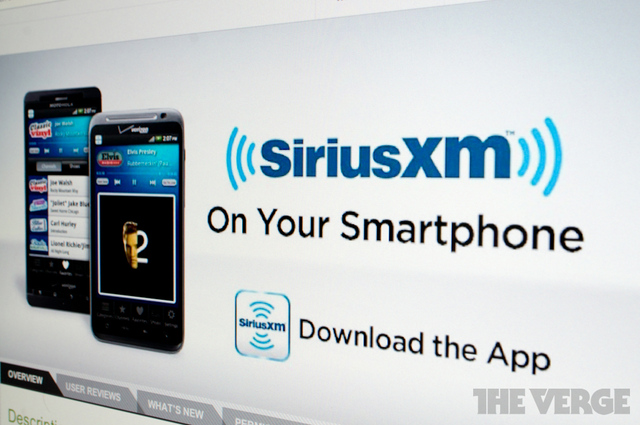 siriusxm android 1020 stock