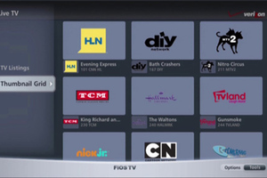 Samsung smart TV FiOS App