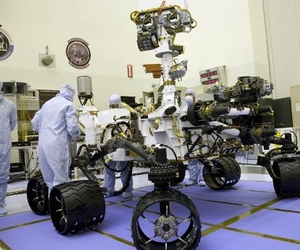 NASA Curiosity Mars Rover