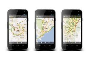 Google Live Traffic Maps