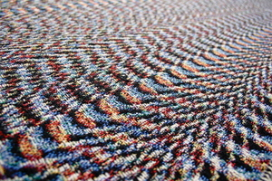 glitch blanket (glitch textiles)