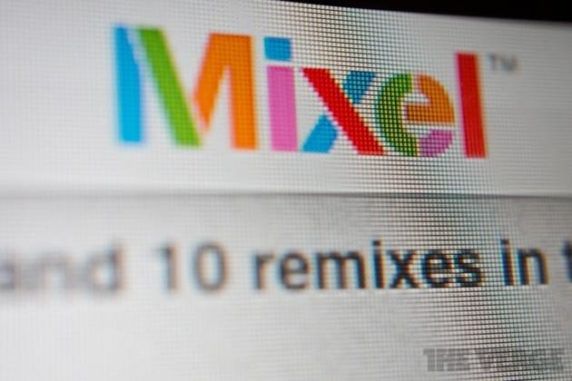 Mixel logo close-up