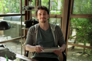 james franco galaxy note 10.1