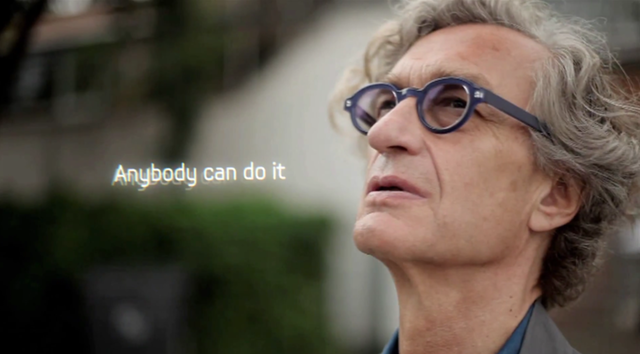Wim Wenders Samsung Galaxy Note II teaser