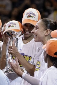 After acquiring forward Tangela Smith, the Phoenix Mercury won two WNBA titles in the following three years.