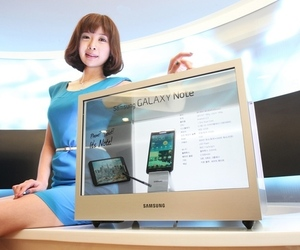 Samsung NL22B display case
