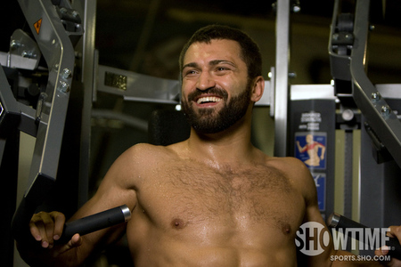 Photo of Andrei Arlovski by Esther Lin for Showtime