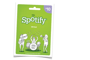 spotify gift card (spotify)