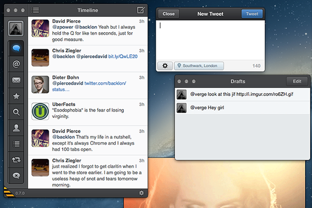 photo image Tweetbot for Mac moves to beta stage, but only existing users can partake