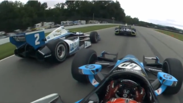 IndyCar Onboard footage
