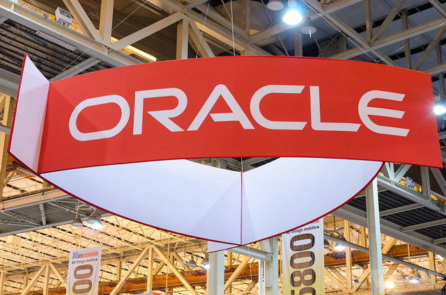 Oracle logo (STOCK)