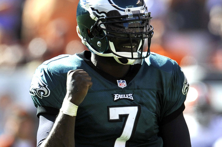 Mike Vick reacting to the news that Jersey Shore is being cancelled.
