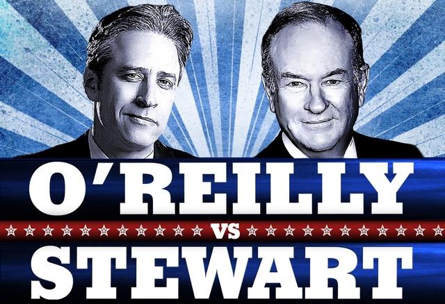 john stewart and bill orielley