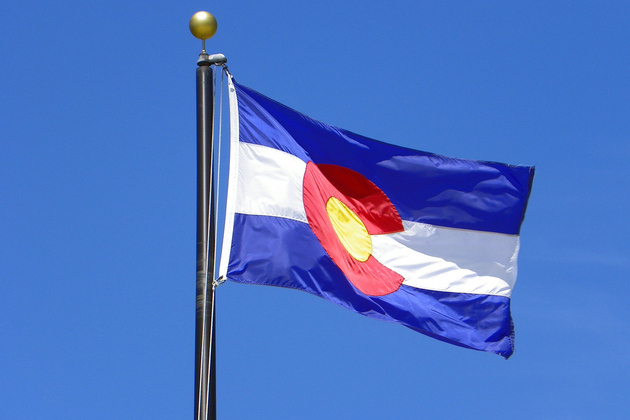 Colorado state flag PIPE_CHAR. Flickr