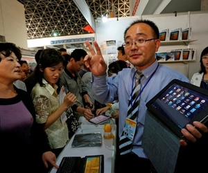 Associated Press North Korea Android tablet