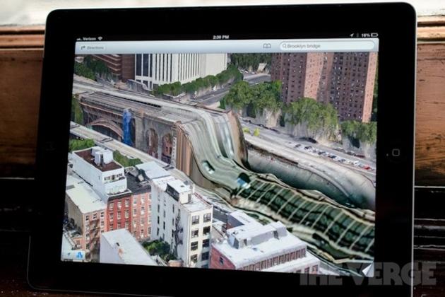"Apple Maps ""Brooklyn Bridge"""