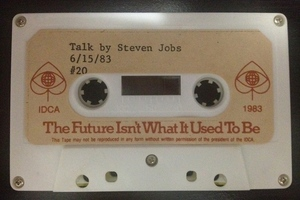 1983 Steve Jobs speech tape